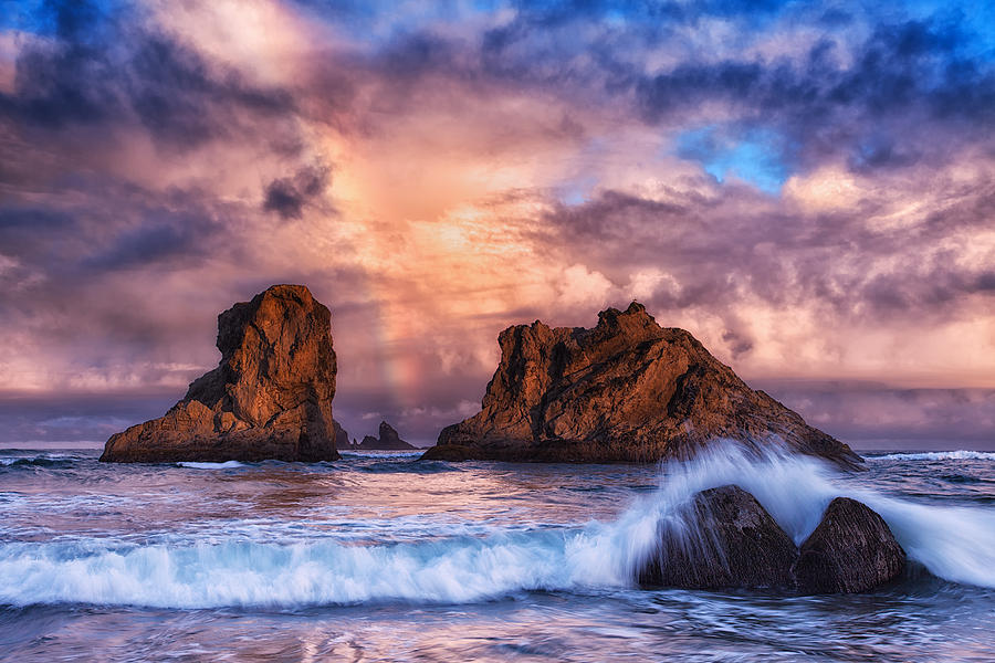 Storm Photograph - Bandon Beauty by Darren  White