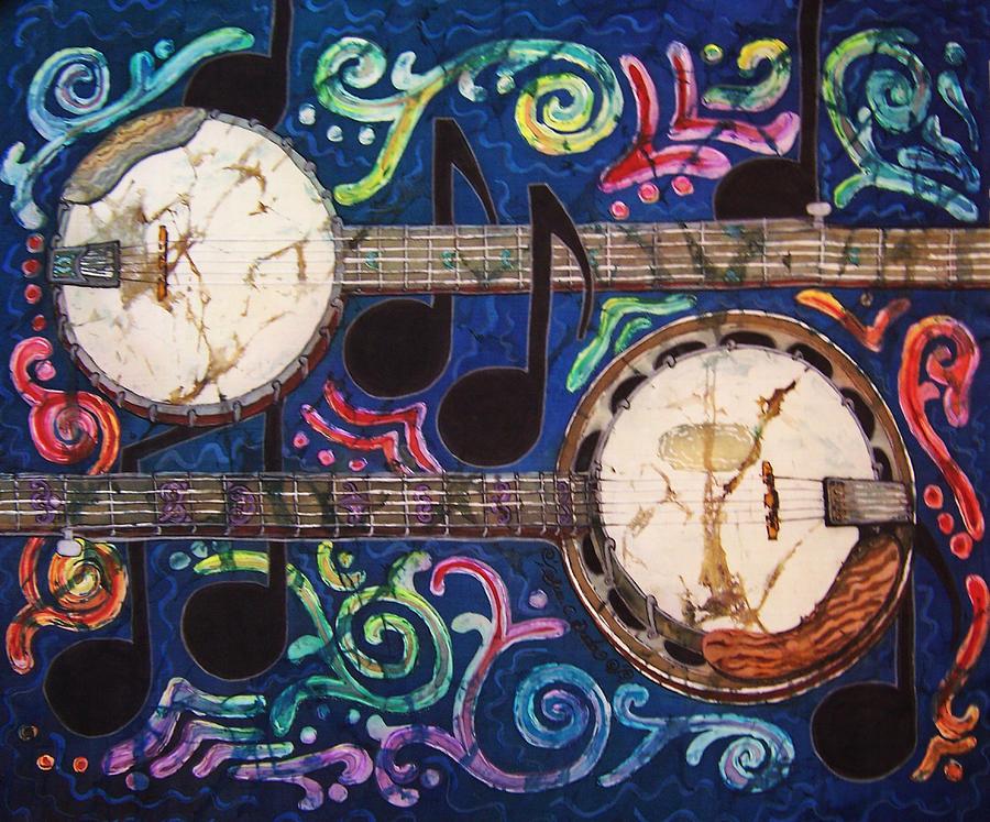 Banjos Painting