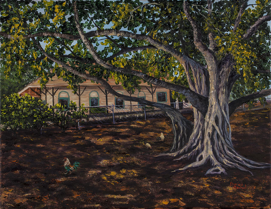 Banyan Tree Painting  - Banyan Tree Fine Art Print
