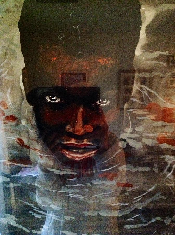 Painting - Bapteme by Schroder Konate