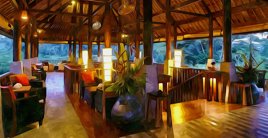 Bar Bedulu Painting