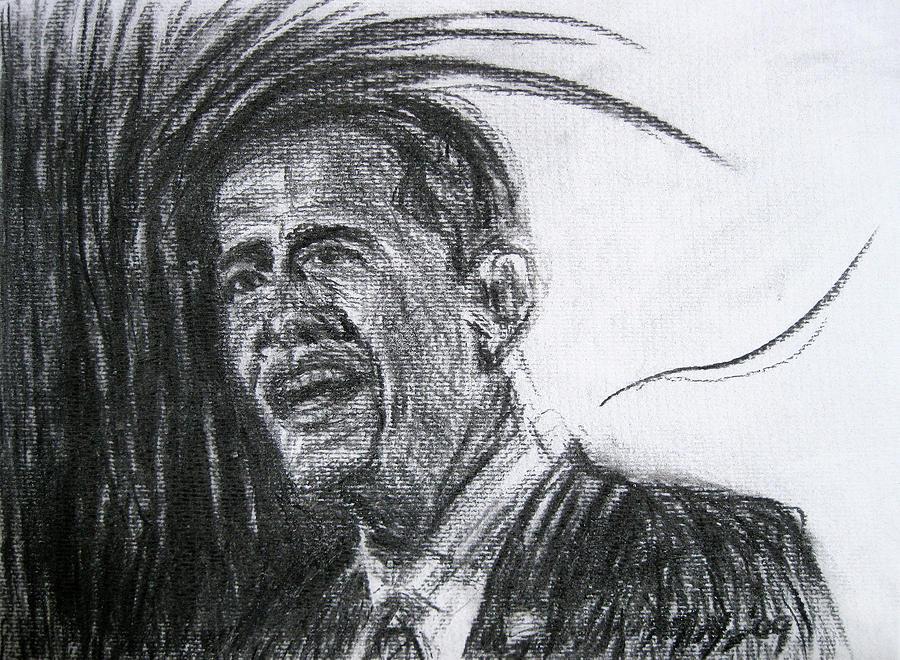 Barack Obama 1 Drawing