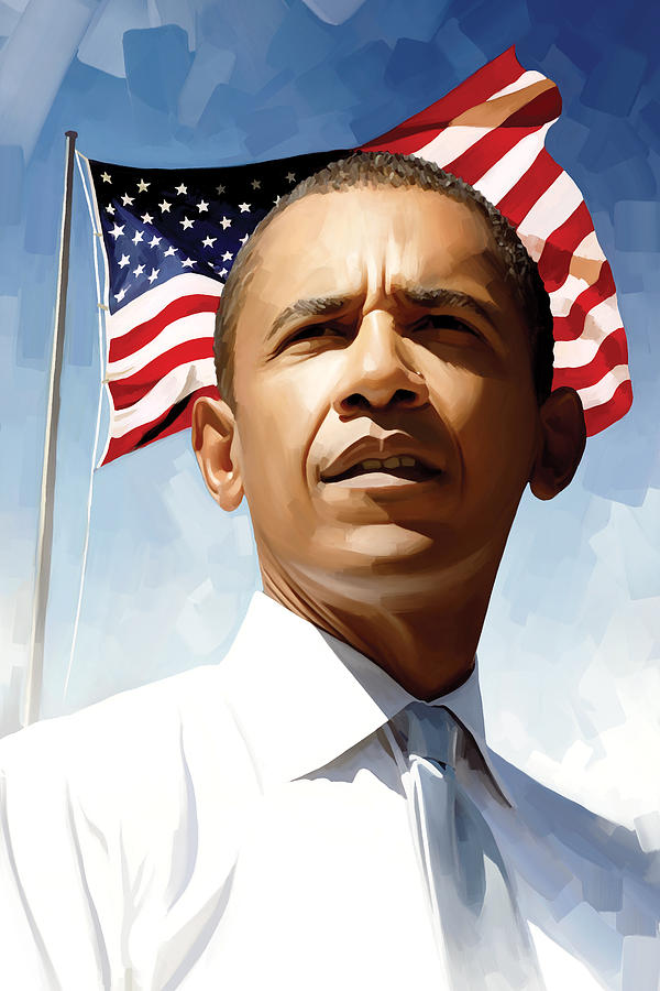 Barack Obama Artwork 1 Painting