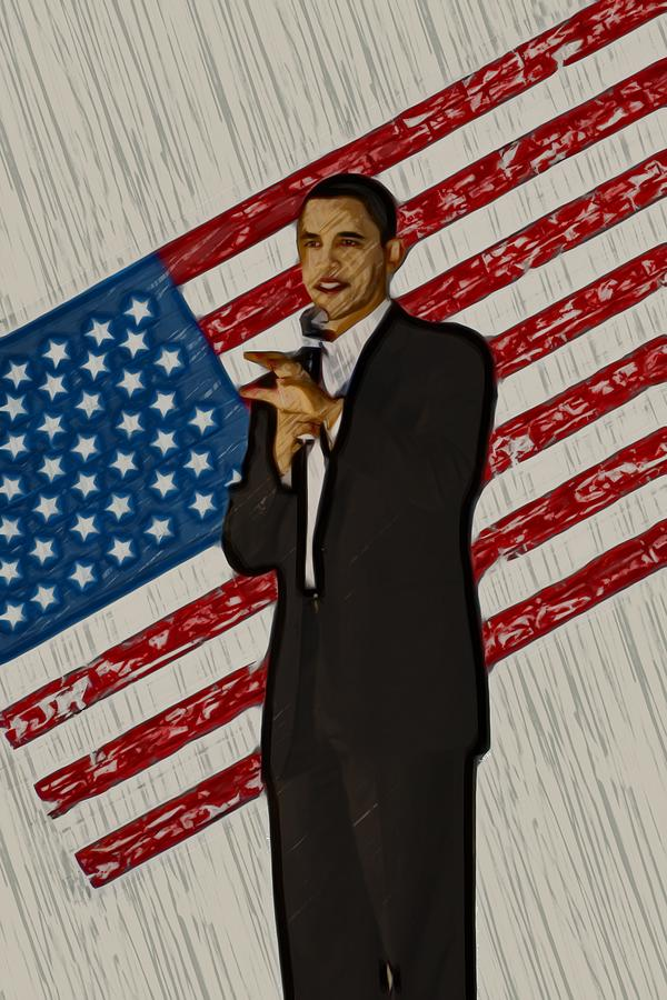 Barack Obama Photograph  - Barack Obama Fine Art Print