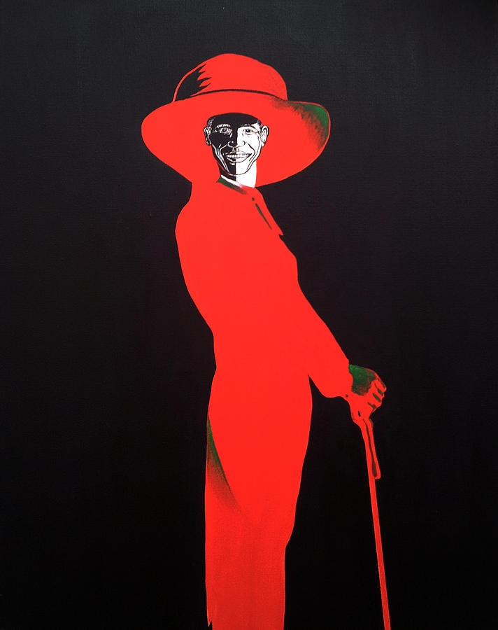 Portrait Painting - Barack Obama by Bryan Ahn
