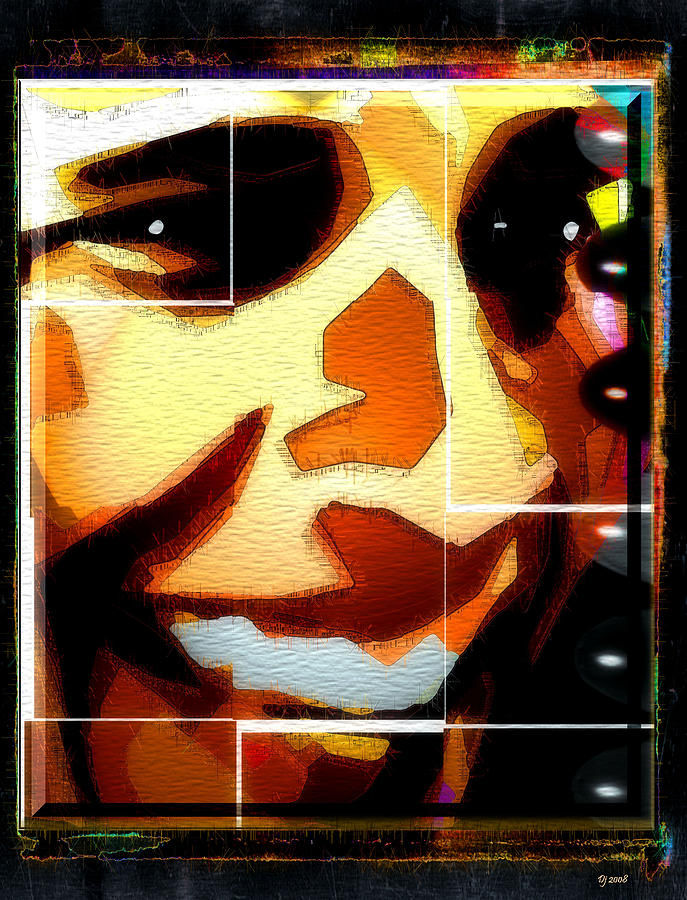 Barack Obama Digital Art  - Barack Obama Fine Art Print