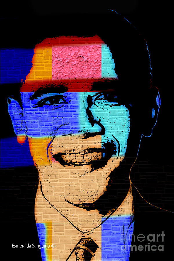 Barack Obama Digital Art