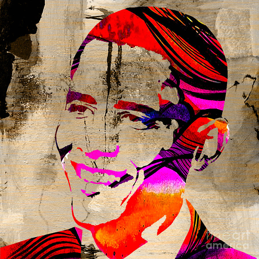Barack Obama Mixed Media