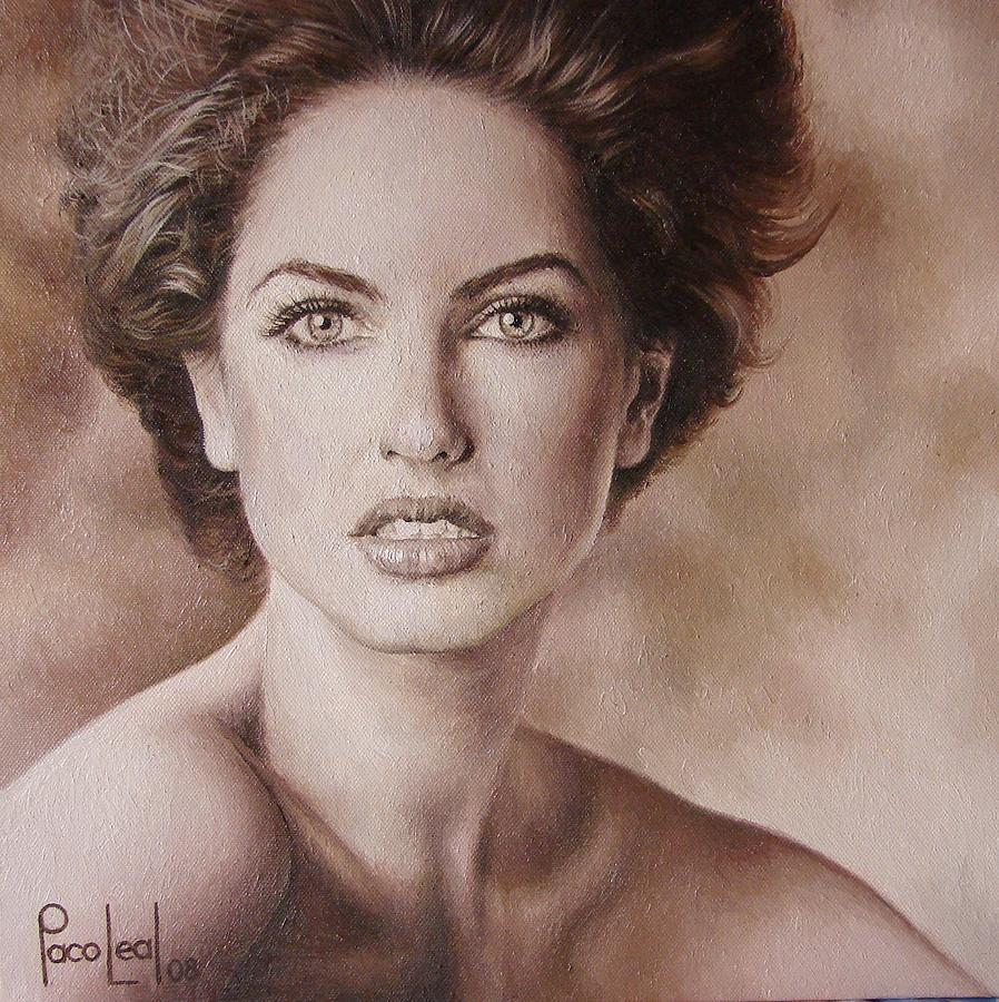 Barbara Painting - Barbara by Paco Leal