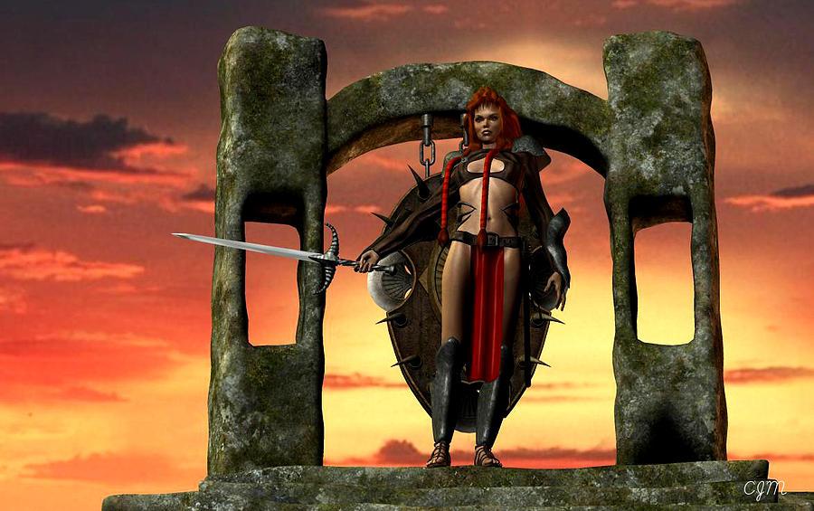 barbarian queen art - photo #21