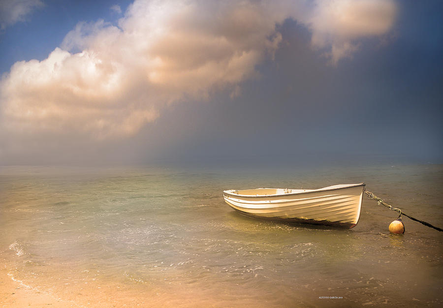 Barca De Marisqueo Photograph