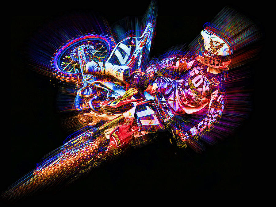 Barcia Whip Digital Art