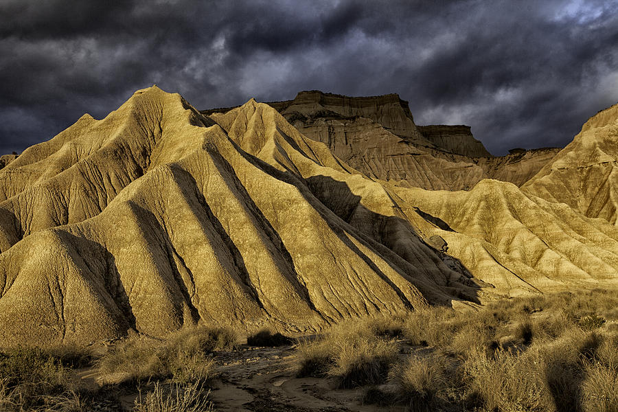 Bardenas Sunset Photograph  - Bardenas Sunset Fine Art Print