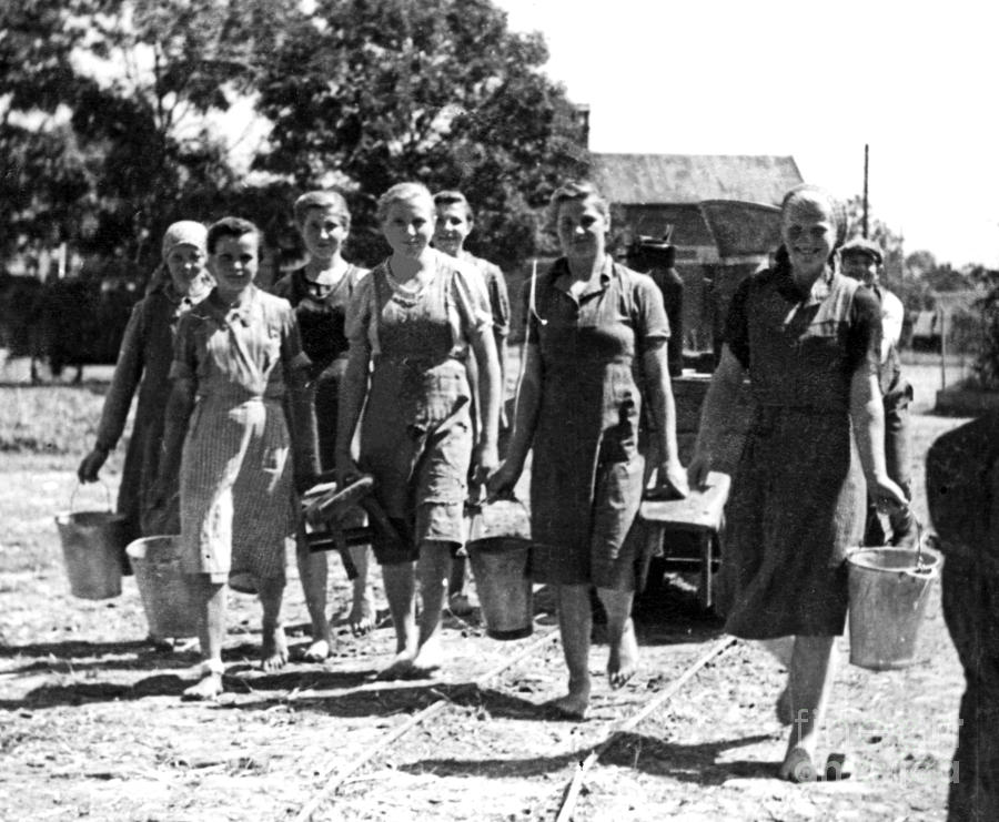 http://images.fineartamerica.com/images-medium-large-5/barefoot-milkmaids-1939-barbara-mcmahon.jpg