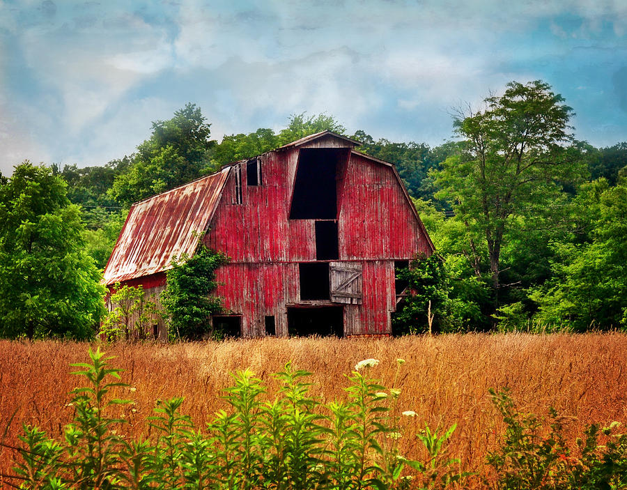 Barn Photograph - Barn 23 by Marty Koch