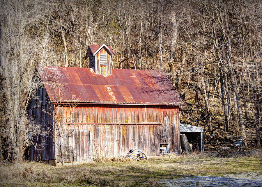 Barn By The Bluffs Photograph  - Barn By The Bluffs Fine Art Print
