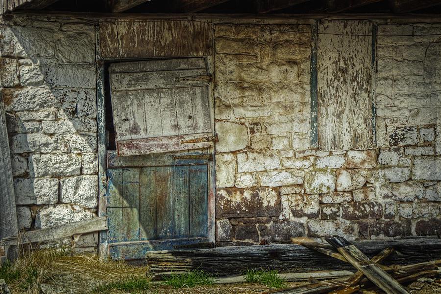 Barn Photograph - Barn Door by Joan Carroll