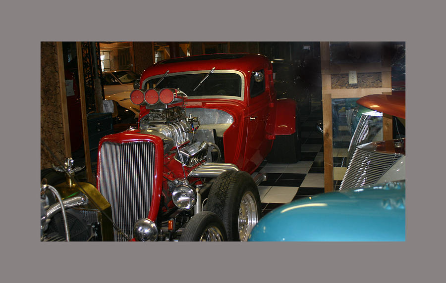 Barn Find 1934 Ford 5 Window Coupe Photograph  - Barn Find 1934 Ford 5 Window Coupe Fine Art Print