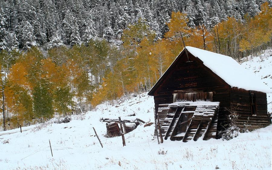Barn In The San Juan Mountains Photograph  - Barn In The San Juan Mountains Fine Art Print