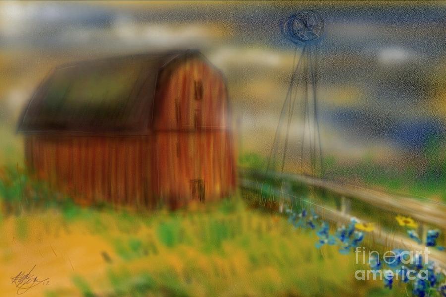 Barn Painting