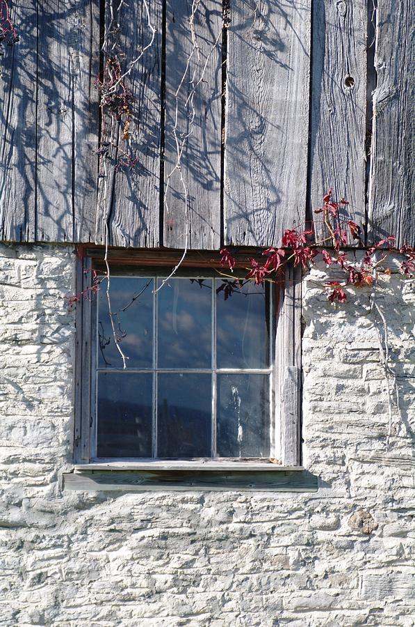 Barn Photograph - Barn Window by Sheila Byers