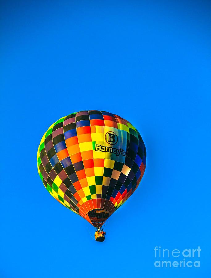 Barneys Hot Air Balloon Photograph
