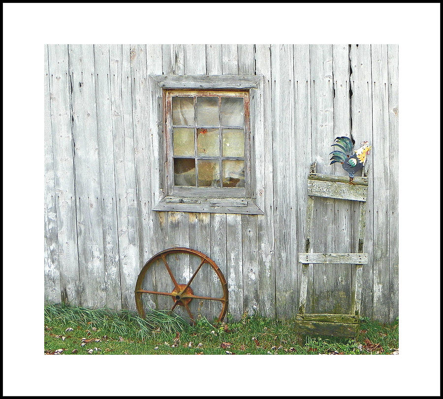 barnwood decor photograph by dianne lacourciere