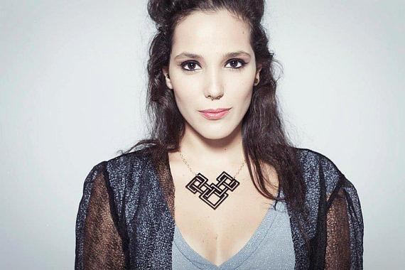 Jewelry Jewelry - Baronyka Geometric Necklace by Rony Bank