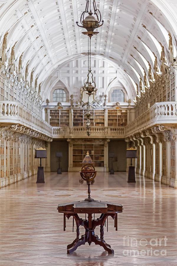 Baroque Library  Photograph