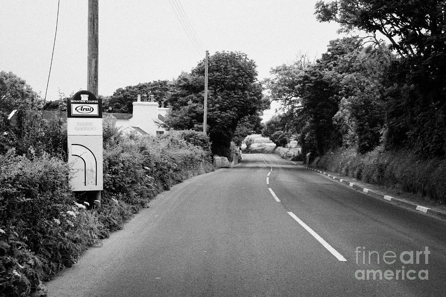 Barre Garroo On The Isle Of Man Tt Course Iom Photograph
