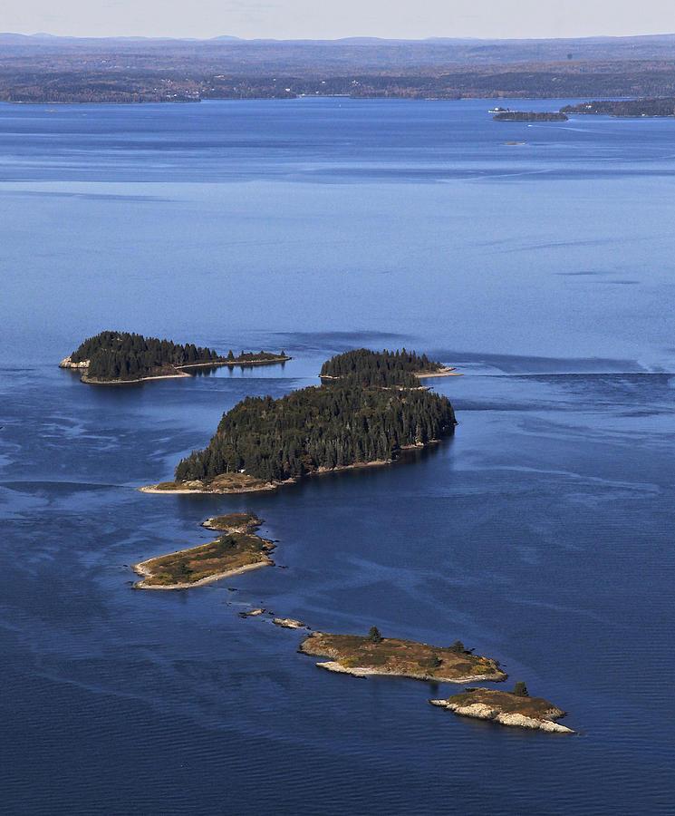 Barred Islands, Penobscot Bay Photograph