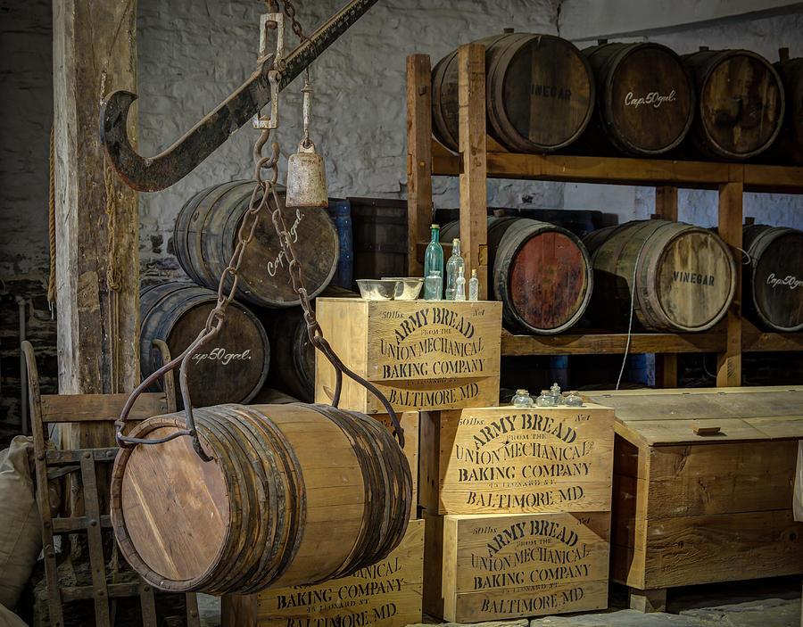 Barrels Photograph
