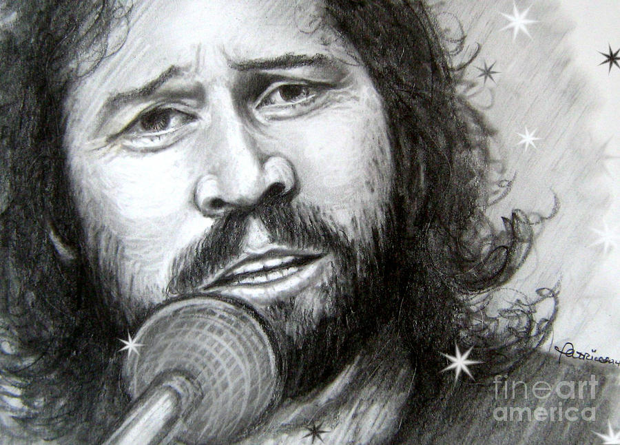Barry Drawing - Barry Gibb by Patrice Torrillo