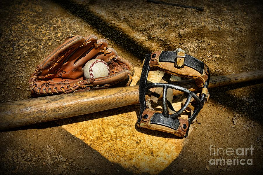 Baseball Play Ball Photograph