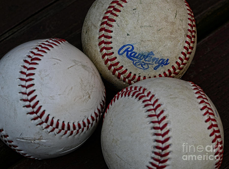 Baseball - The American Pastime Photograph  - Baseball - The American Pastime Fine Art Print