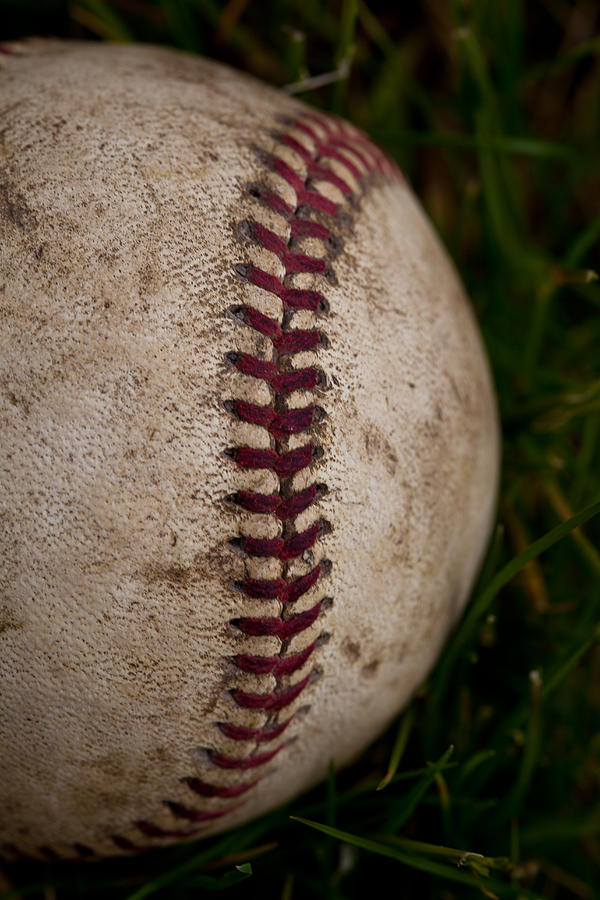 Baseball - The National Pastime Photograph  - Baseball - The National Pastime Fine Art Print