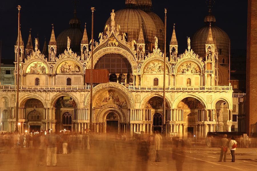 Venice Photograph - Basilica Di San Marco by George Buxbaum