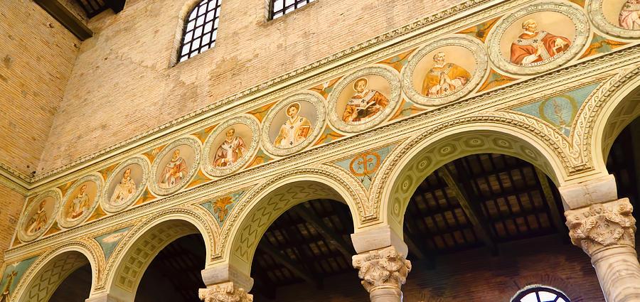 Basilica Di Sant Apollinare Nuovo - Ravenna Italy Photograph