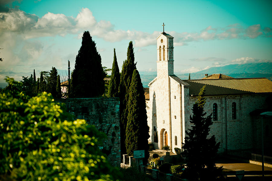 Basilica In Assisi  Photograph
