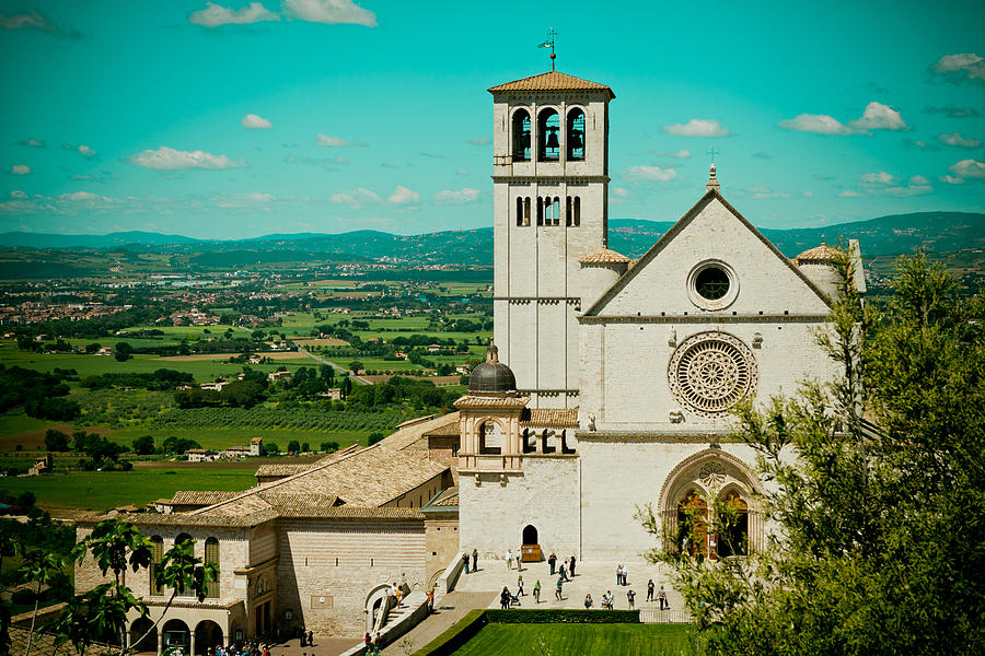 Places Photograph - Basilica Of San Francesco Assisi  by Raimond Klavins