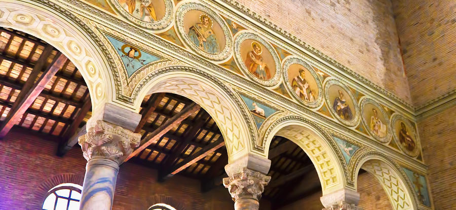 Basilica - Ravenna Italy Photograph