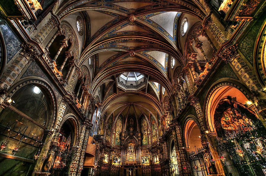 Basilica The Montserrat Photograph