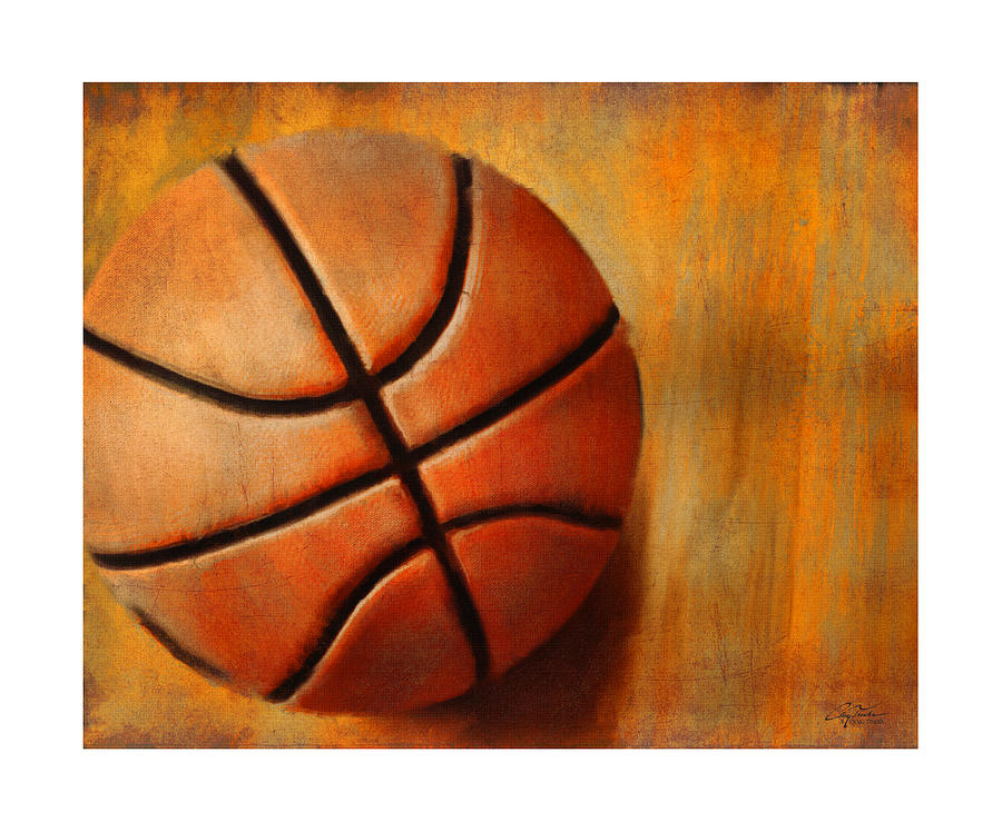 Basket Ball Digital Art