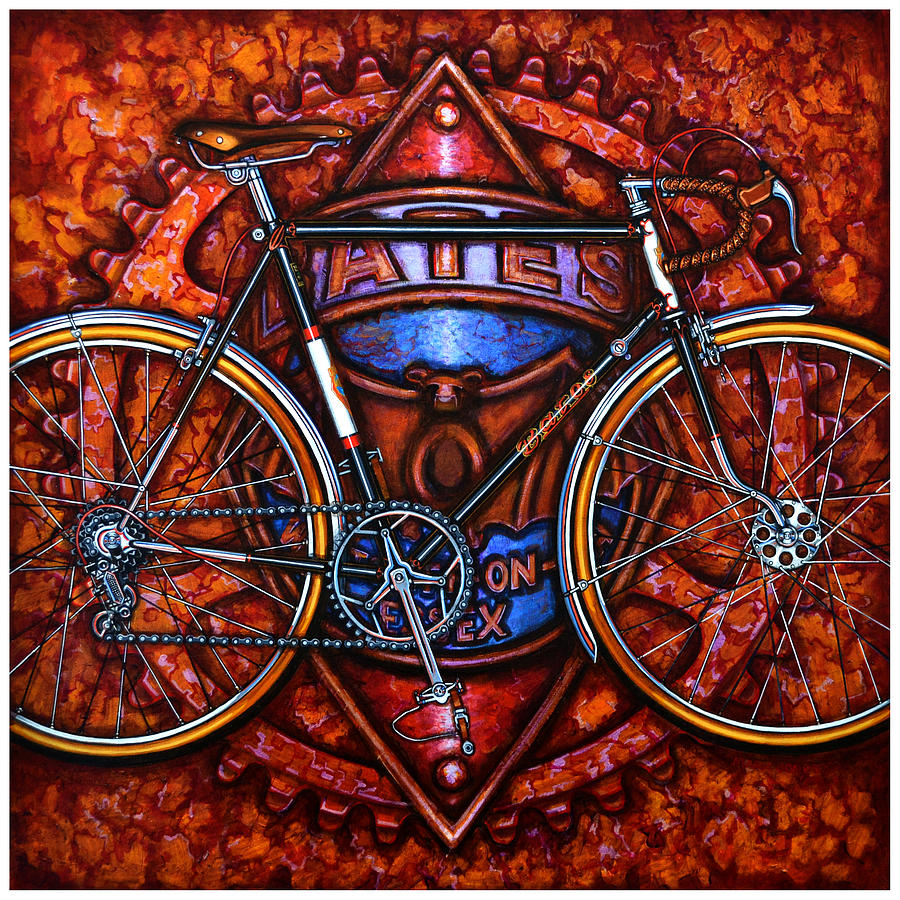 Bates Bicycle Painting