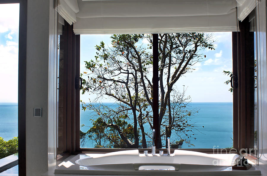 Bathroom With A View Photograph  - Bathroom With A View Fine Art Print