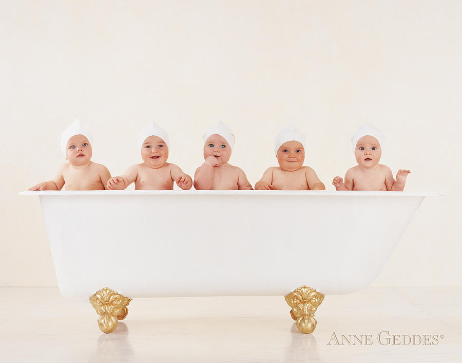 Bathtub Babies Photograph