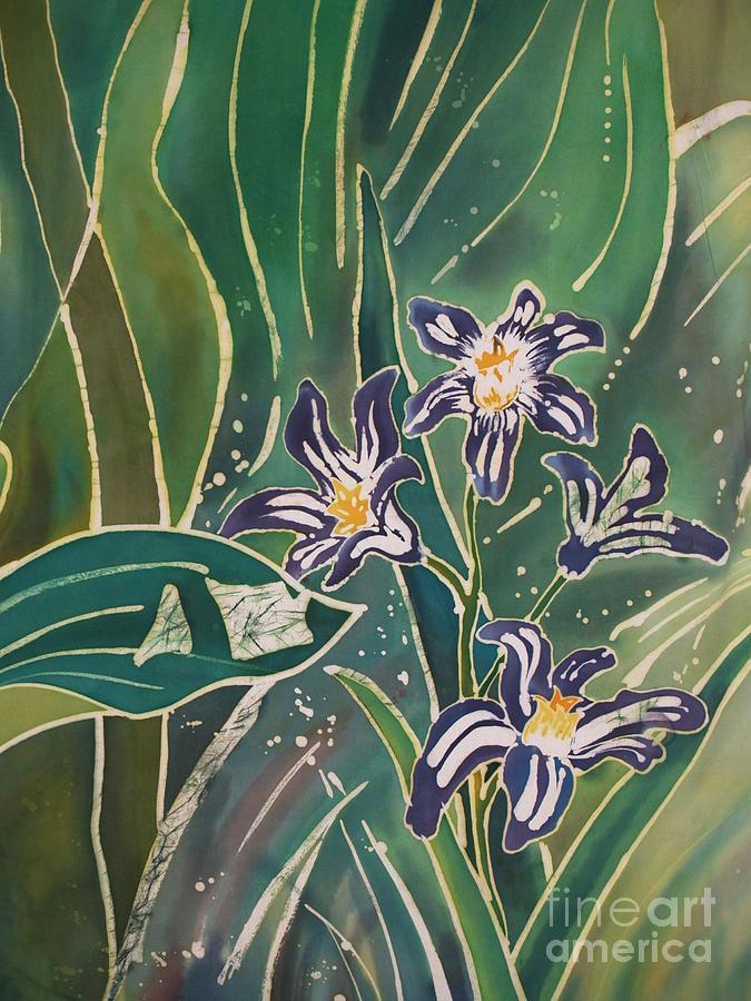 Batik Detail - Pushkinia Painting