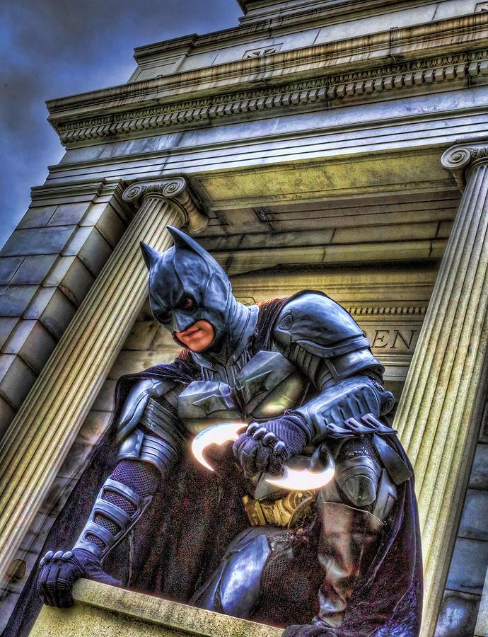 Batman - Dark Knight - City Of Fear Photograph