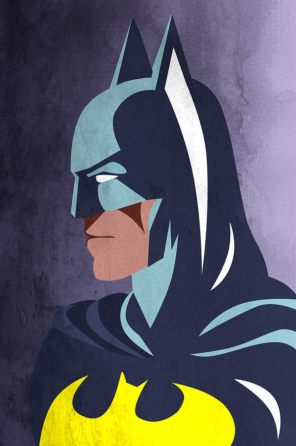 Batman 2 Digital Art  - Batman 2 Fine Art Print