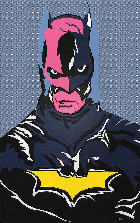 Batman At The Dmv Painting